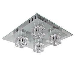 Plafondlamp met instelbare lichtkleuren