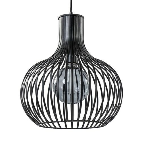 Hanglamp Onion zwart 35cm
