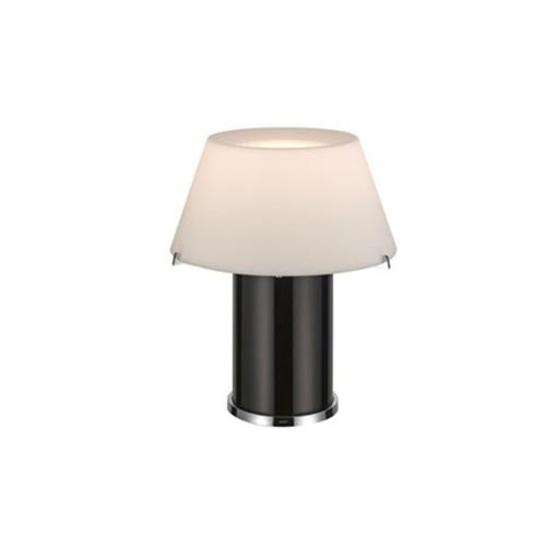 Tafellamp groot zwart, wit design