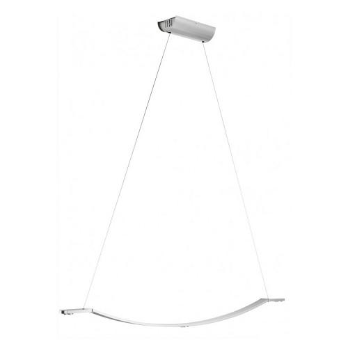 *Hanglamp LED nikkel, mat