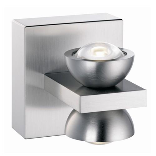 Wandlamp nikkel