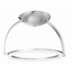 *Plafondlamp nikkel design