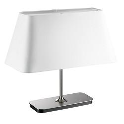 *Design tafellamp lampenkap wit dimbaar