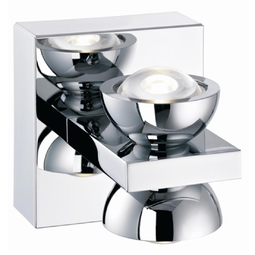 Design wandlamp LED chroom keuken-hal