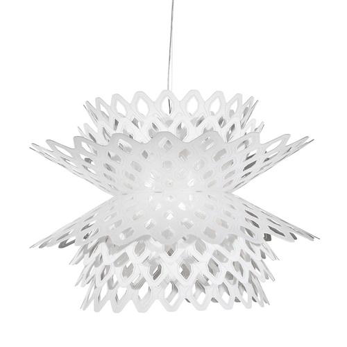 Moderne design hanglamp wit