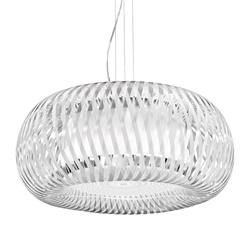 Grote design hanglamp Kalatos wit