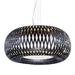 Hanglamp Kalatos zwart/goud 63cm