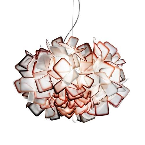 Design hanglamp Clizia oranje 53 cm