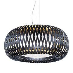 Moderne design hanglamp Kalatos zwart met goud