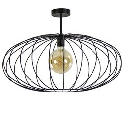 Plafondlamp Ufo draad zwart 60cm