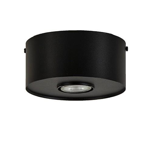 Plafondspot cilinder plat gu10