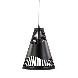 *Scandinavische hanglamp zwart metaal