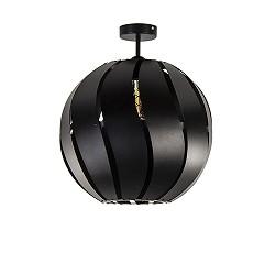 *Grote plafondlamp bol zwart