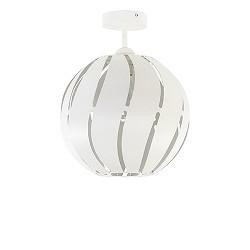 *Scandinavische plafondlamp wit metaal
