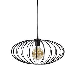 *Sfeervolle hanglamp-draadlamp zwart