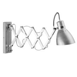 Trek wandlamp Spring chroom/grijs