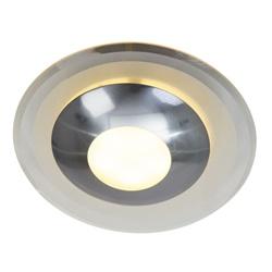 Moderne plafondlamp Zelena glas LED