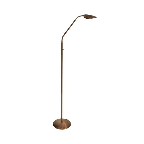 Klassieke leeslamp LED brons dimbaar