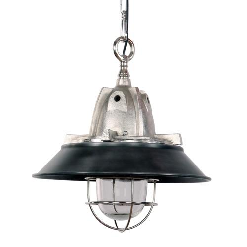 Hanglamp Tuk industrieel 41cm zwart/staal