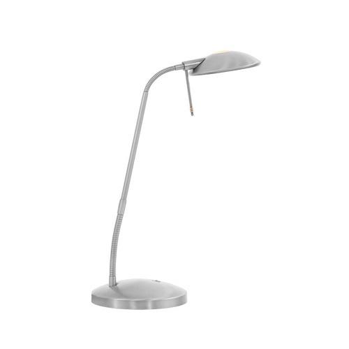 Strakke Led Tafellamp-bureaulamp Staal