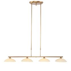 Monarch eettafelhanglamp brons LED