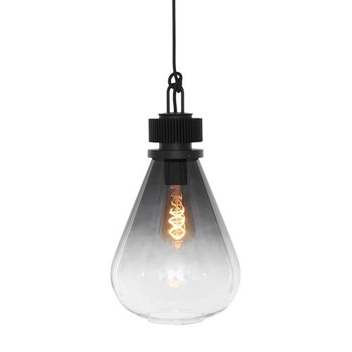 Luxe hanglamp glas/metaal
