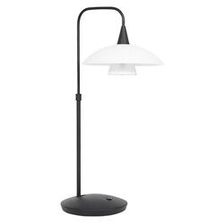 Moderne tafellamp zwart met dimbaar LED