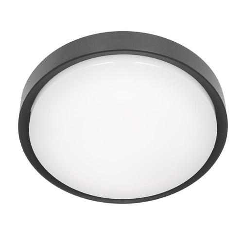 Buitenlamp Fuga plafond zwart 25cm IP65