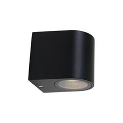 Buitenlamp Logan afgerond zwart IP44