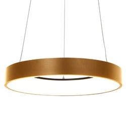 Moderne design LED hanglamp ring goud