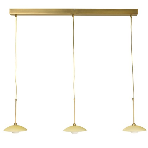 *Klassieke hanglamp Aleppo brons 2926BR
