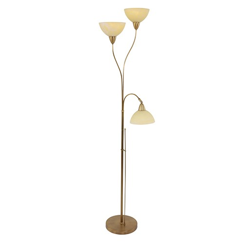 **Vloerlamp Burgundy brons 5422BR