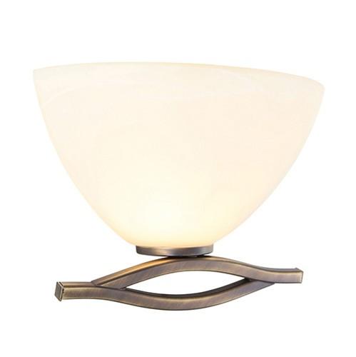 Wandlamp Capri brons/Glas 6841BR