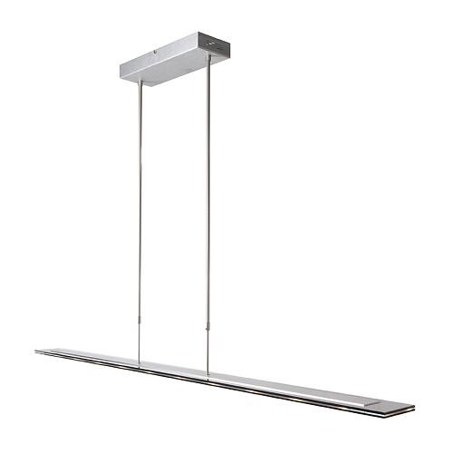 *Moderne hanglamp LED staal eettafel