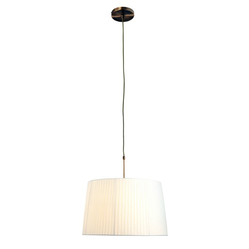 *Hanglamp Gramineus brons kap creme
