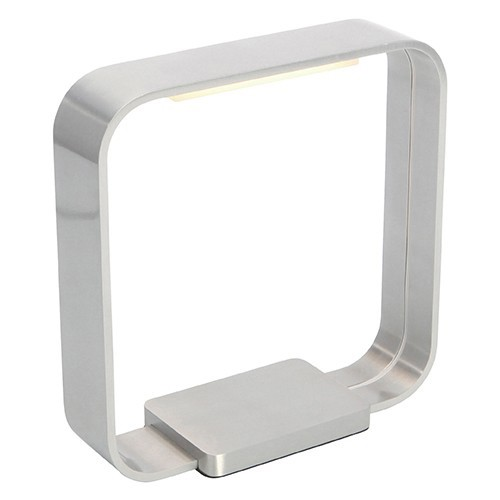 **Tafellamp Cascade led aluminium rvs