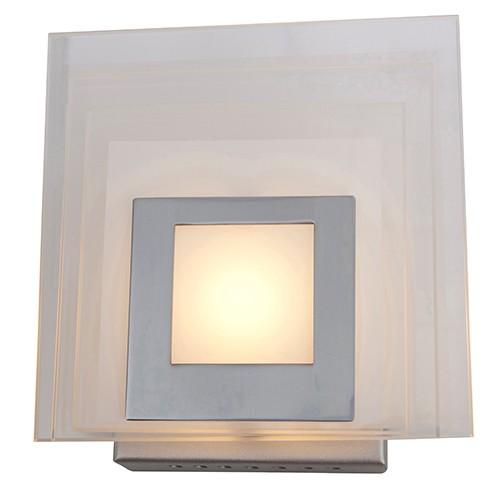 *Wandlamp Vredenhof led aluminium glas