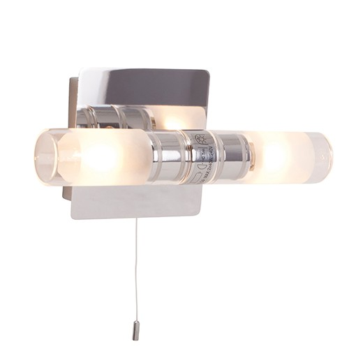 Badkamer wandlamp Vikareus schakelaar | Straluma