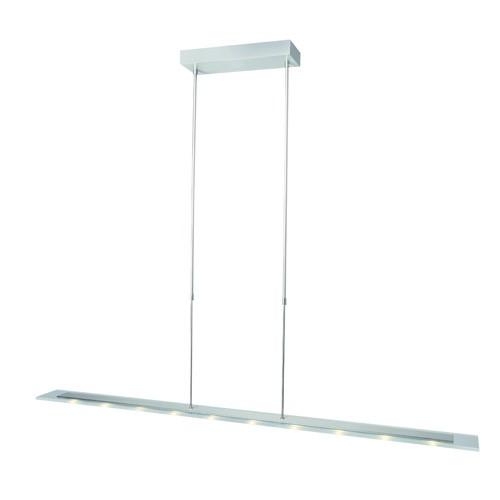 **Moderne LED hanglamp glas-st. eettafel