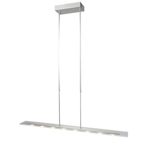 **Moderne LED eettafel hanglamp staal-gl