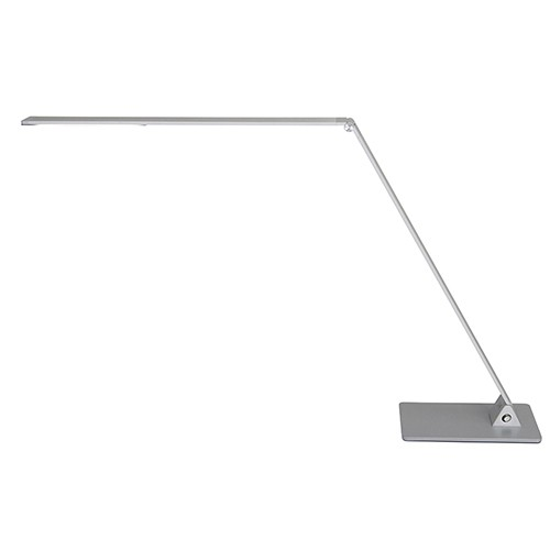 Design bureaulamp-leeslamp staal dimbaar