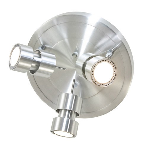 LED plafondlamp Natasja aluminium 3-L