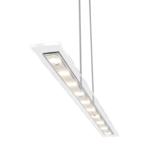 Moderne LED hanglamp glas met dimmer