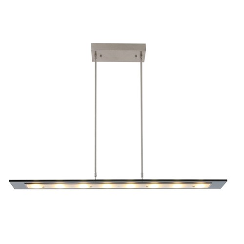 *Moderne LED hanglamp glas 100 cm dim