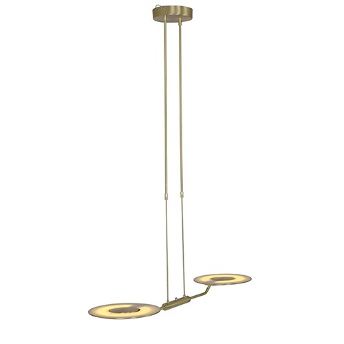 Klassieke hanglamp Zenith LED messing