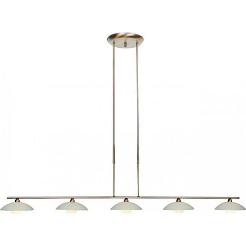 *LED eettafel hanglamp Monarch brons