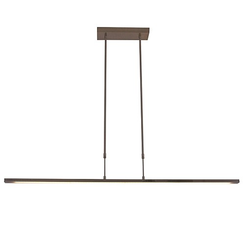 LED hanglamp brons inclusief dimmer