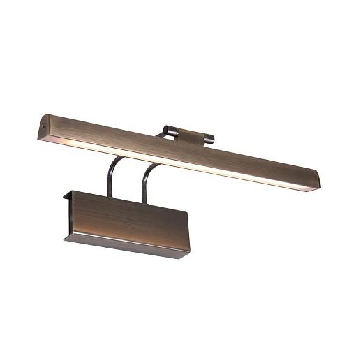 Klassieke wandlamp schilderij brons met LED