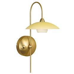 *Klassieke wandlamp Aleppo brons 2929BR