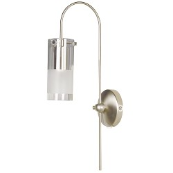 *Wandlamp Peach Staal/glas 3346ST